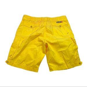 Vintage polo sport Ralph Lauren yellow cargo short